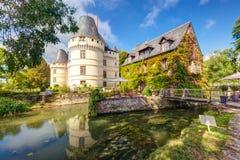 大别墅de l'Islette,法国 免版税图库摄影