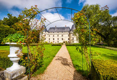 大别墅de l ` Islette,法国 库存照片