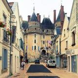 大别墅de Langeais,法国 库存图片