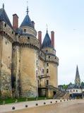 大别墅de Langeais,法国 免版税库存图片