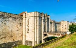 大别墅de Vincennes,在巴黎附近的第14个和17世纪皇家堡垒在法国 免版税库存照片