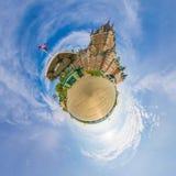 大别墅Frontenac魁北克市一点行星 免版税库存图片