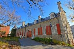 大别墅Ramezay,老蒙特利尔,加拿大 库存图片