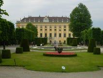 大别墅Schönbrunn,维也纳,奥地利 图库摄影