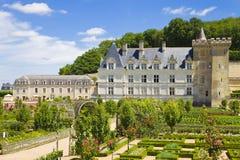 大别墅villandry的法国 免版税库存照片