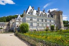 大别墅villandry的法国 库存照片