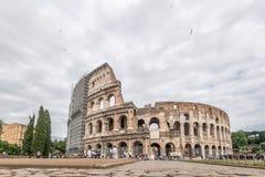大剧场意大利罗马 免版税库存图片