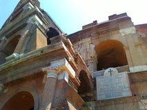 大剧场 罗马 古老建筑地标 免版税库存图片