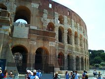 大剧场 罗马 古老建筑地标 库存照片