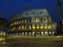 大剧场- Flavian圆形剧场在罗马 免版税库存图片