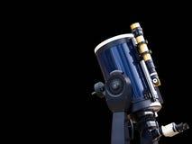 大功率望远镜 免版税库存照片