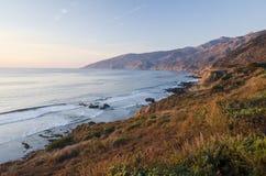 大加利福尼亚中央海岸蒙特里sur 库存照片