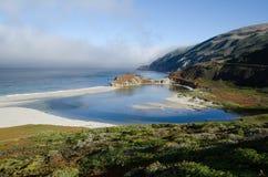 大加利福尼亚海岸线sur 库存照片