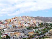 大加那利岛口岸 免版税图库摄影