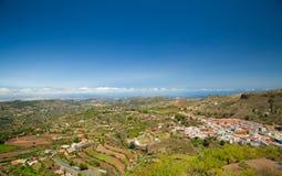 大加那利岛,维加de圣马特奥 库存照片
