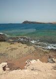 大加那利岛, Playa de El Cabron 免版税库存图片