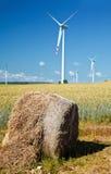 大包干草涡轮风 库存图片