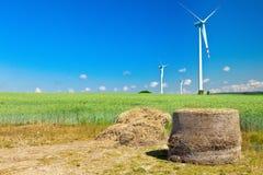 大包干草涡轮风 图库摄影