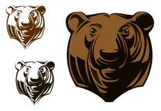 大北美灰熊 向量例证
