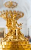 大卫伦做的桃花心木局阿波罗图,赫姆方碑 库存照片