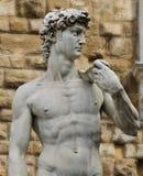 大卫佛罗伦萨意大利雕象 免版税库存照片