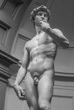 大卫佛罗伦萨意大利雕象 库存照片