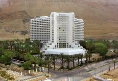 大卫温泉旅馆在Ein Bokek,死海,以色列 库存照片