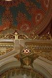 大卫王之星布达佩斯犹太教堂 免版税库存图片