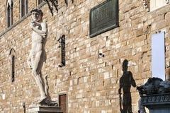 大卫米开朗基罗雕象 免版税库存照片