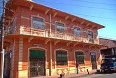 大卫-巴拿马共和国的殖民地房子 库存照片