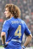 大卫Luiz纵向 库存图片