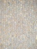 大卵石向铺背景的街道扔石头 图库摄影