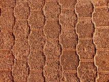 大卵石地板 库存照片