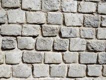 大卵石墙壁 图库摄影