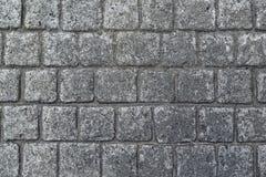 大卵石石路面纹理 免版税图库摄影