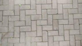 大卵石石道路 库存图片