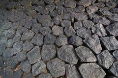 大卵石石头 免版税库存图片