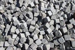 大卵石石头 免版税库存照片