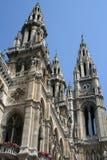 大厅城镇维也纳 免版税库存图片