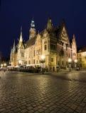 大厅城镇wroclaw 库存图片