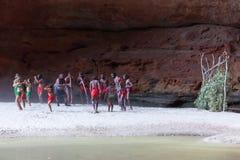 大厅小河,西澳州,澳大利亚- 2013年7月13日: 图库摄影