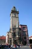 大厅布拉格城镇 库存图片