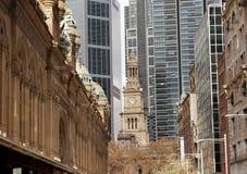 大厅悉尼城镇 库存图片