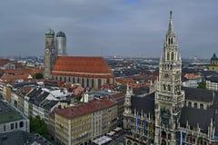 大厅慕尼黑新的城镇 免版税库存照片