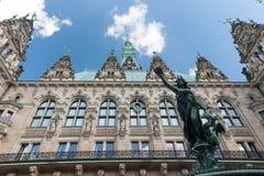 大厅汉堡城镇 免版税库存图片