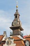 大厅犹太布拉格城镇 库存照片