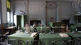 大厅独立费城 免版税图库摄影