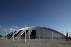 大厅现代体育运动 免版税库存照片