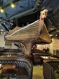 大厅的装饰以海盗船的形式 免版税库存图片
