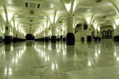 大厅祷告 库存照片